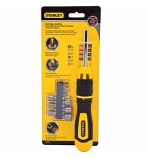 Stanley 62-574 Multibit Screwdriver Set, (Pack of 20)