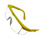 10 Pair 380C Safety Eyewear Cear Yellow Frame
