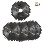 "5 PCS 4"" X 40T WOOD CUTTING DISC"