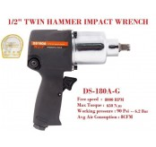 WEILI DS 180A 1/2 Inch Professional Twin Hammer Air Impact Wrench Heavy Duty 650 N.m