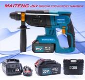 MAITENG 20V 4.0AH MT6020 BRUSHLESS ROTARY HAMMER DRILL