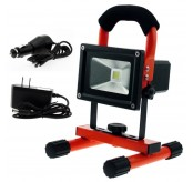 10W Water Resistant Portable Rechargeable Led Spot  Light
